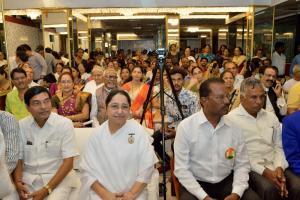 Rajyogini B. K. Shaku Didiji with Chief Guest